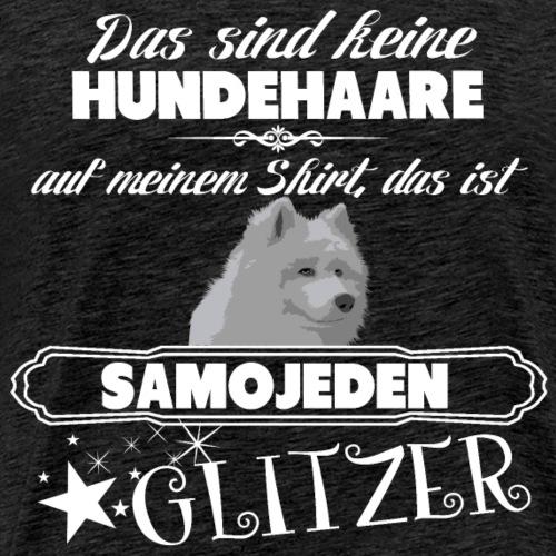 SAMOJEDEN Glitzer - Männer Premium T-Shirt