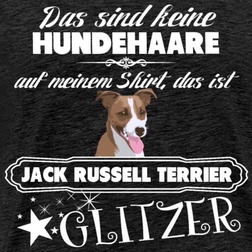 JACK RUSSELL TERRIER Glitzer - Männer Premium T-Shirt