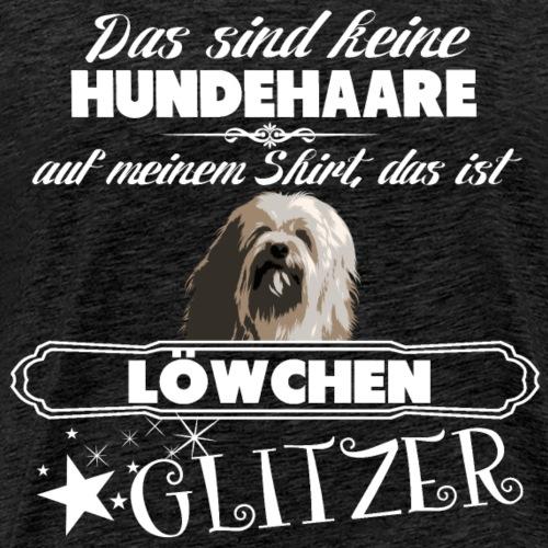 LÖWCHEN Glitzer - Männer Premium T-Shirt