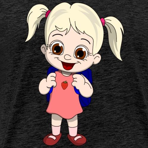 lorey.w Schulmädchen - Männer Premium T-Shirt