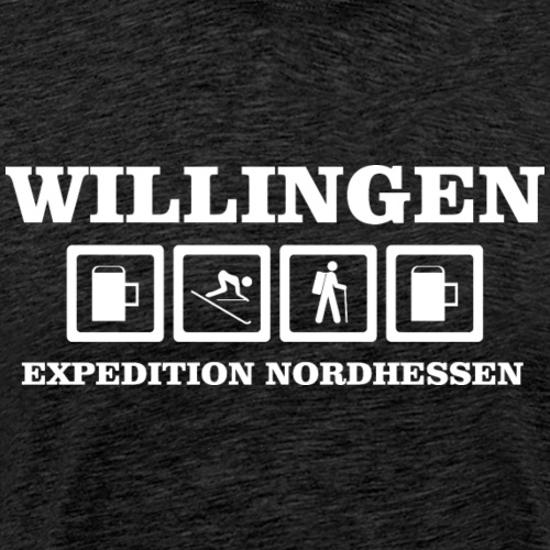 EXPEDITION NORDHESSEN WILLINGEN - Männer Premium T-Shirt