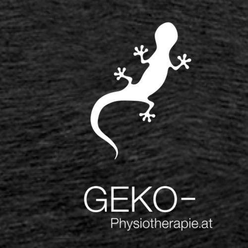 GEKO klein weiss compact - Männer Premium T-Shirt