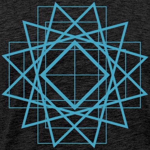 Estrella azul - Camiseta premium hombre