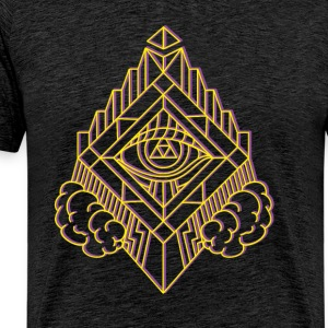 GeomTRIBE tattoo KoralDesign - Mannen Premium T-shirt