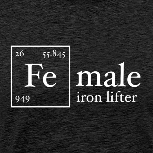 Fe Iron Lifter - Men's Premium T-Shirt