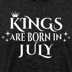 Kings are born in July - Männer Premium T-Shirt