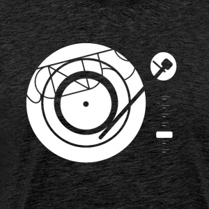 Kynda Music Turntable with - Men's Premium T-Shirt
