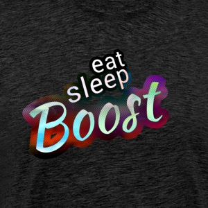 Eat sleep B00ST Magic Color - Männer Premium T-Shirt