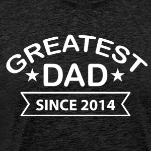 Greatest Dad sedan - Premium-T-shirt herr