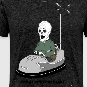 Zombies love Bumper Cars - Men's Premium T-Shirt
