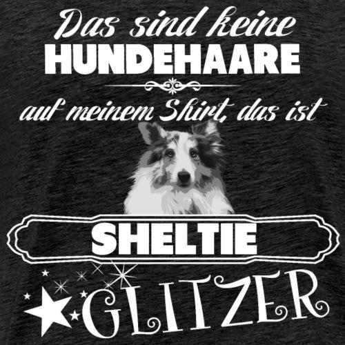 SHELTIE Glitzer - Männer Premium T-Shirt