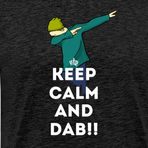 dab keep dabbing touchdown fun cool LOL football - Männer Premium T-Shirt