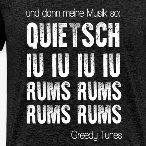 rums rums 2 - Männer Premium T-Shirt