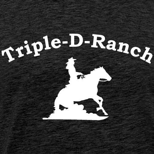 tdr_logo_cowgirl_rechts - Männer Premium T-Shirt