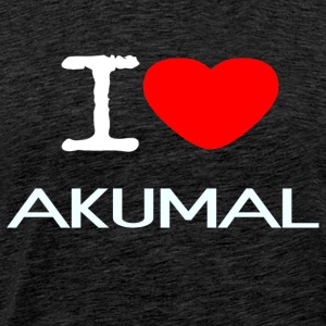 I LOVE AKUMAL - Men's Premium T-Shirt