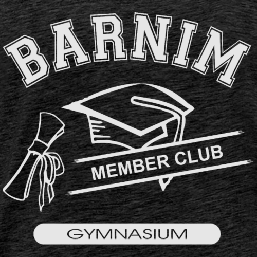 Member Club Logo (hellgrau) - Männer Premium T-Shirt