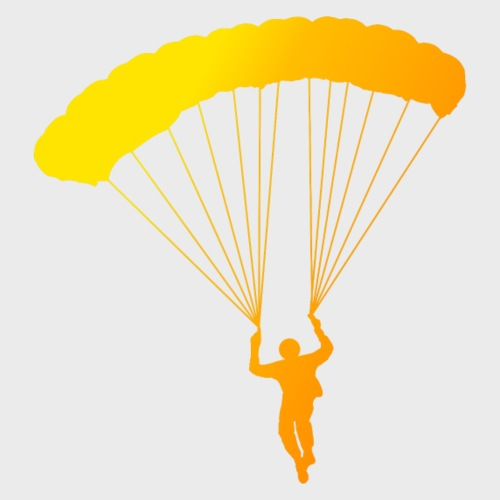 Colorfull Skydiver - Männer Premium T-Shirt