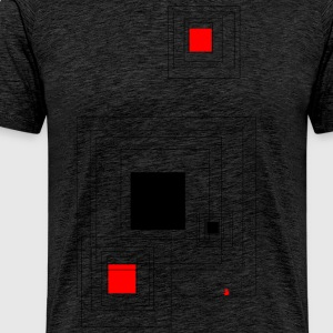 Geometric design - Men's Premium T-Shirt