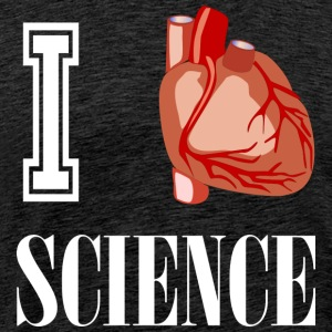 I love science! - Men's Premium T-Shirt