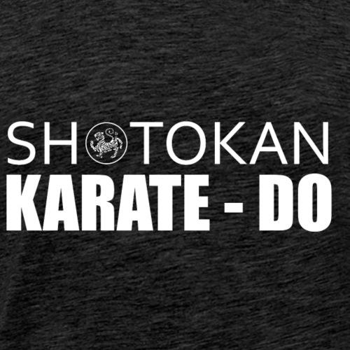 TIGRE karate do shotokan - Camiseta premium hombre