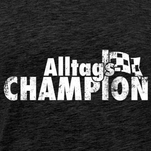 AlltagsCHAMPION weiß - Männer Premium T-Shirt