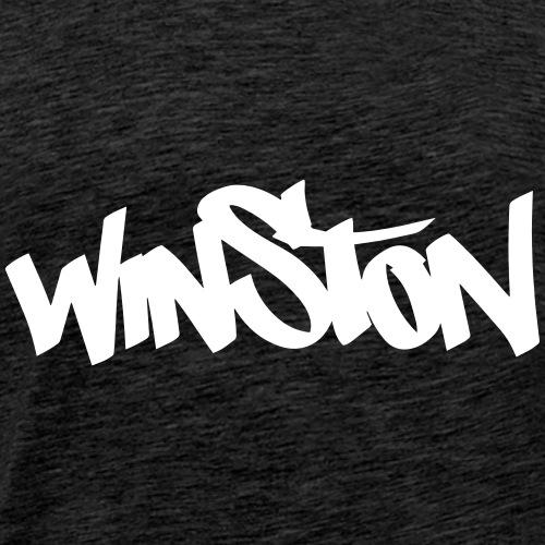 winston sweater backdruck - Männer Premium T-Shirt