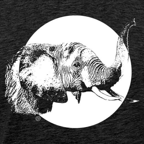 Schützt die Elefanten - Männer Premium T-Shirt