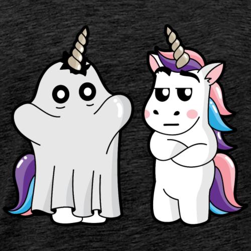 Licorne Halloween - T-shirt Premium Homme