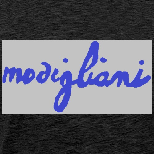 firm_blue - Maglietta Premium da uomo