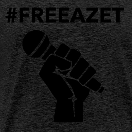 #FreeAzet - Männer Premium T-Shirt