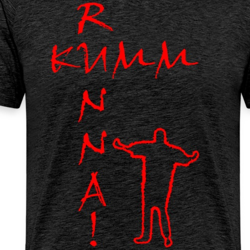 Kumm Runna Rot - Männer Premium T-Shirt