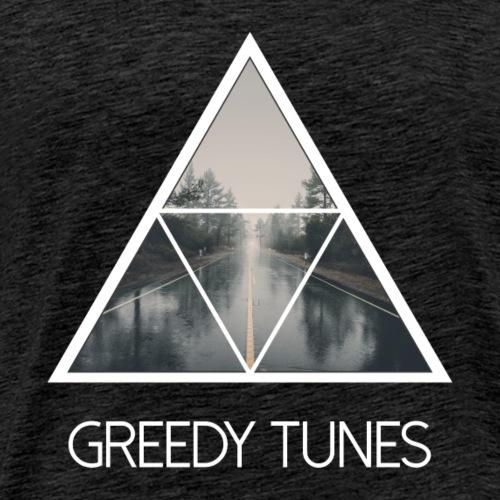 Greedy Tunes Road 2 - Männer Premium T-Shirt