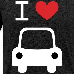 I love Car - Men's Premium T-Shirt