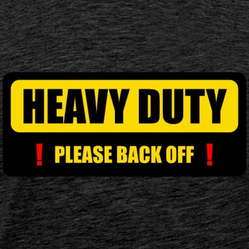 Schwerlast in Bewegung alternativ - Männer Premium T-Shirt