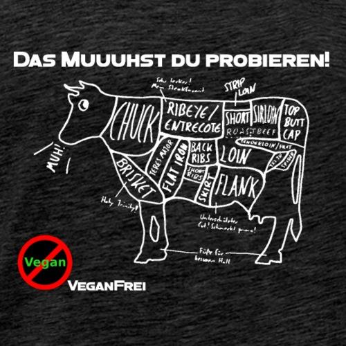 Meatcut T-shirt - Männer Premium T-Shirt