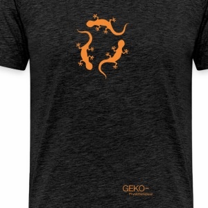 GEKO orange - Männer Premium T-Shirt