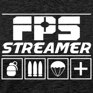 FPS Streamer - Premium-T-shirt herr