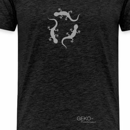 GEKO grau50 - Männer Premium T-Shirt