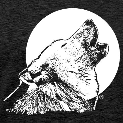 gar kein böser Wolf - Männer Premium T-Shirt