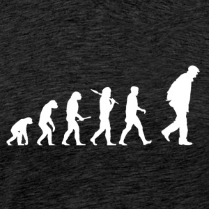 Evolution Grandpa! - Männer Premium T-Shirt