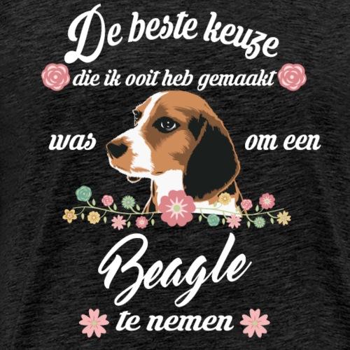 Beagle - Mannen Premium T-shirt