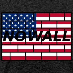 no wall - Men's Premium T-Shirt
