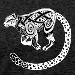 Celtic Snow Leopard / Celtic Snow Leopard - Men's Premium T-Shirt