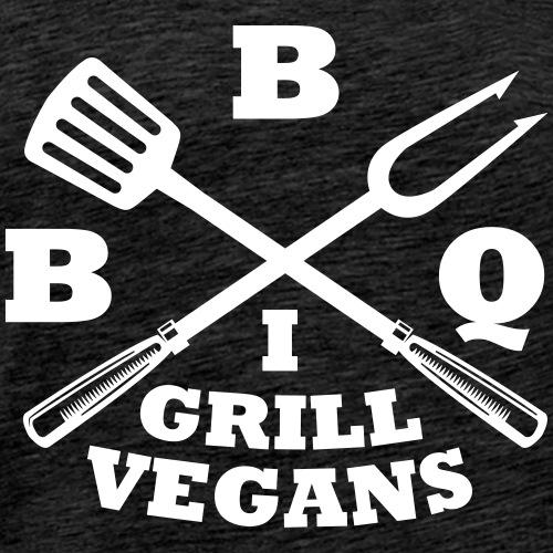 Je barbecue végétaliens grill (BBQ) - T-shirt Premium Homme