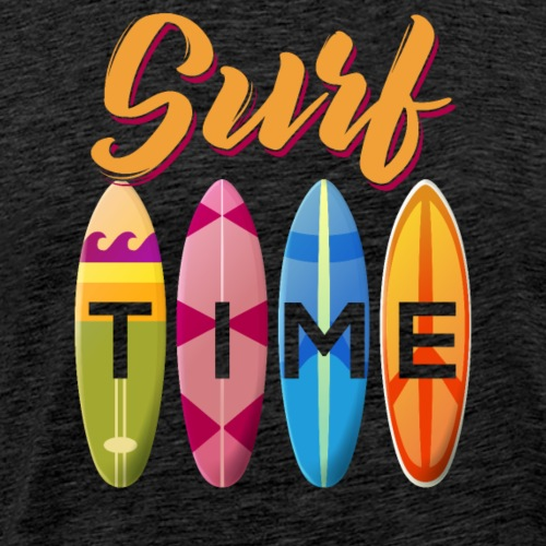 Surf Time - Männer Premium T-Shirt
