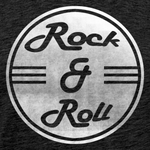 Rock & Roll - Mannen Premium T-shirt