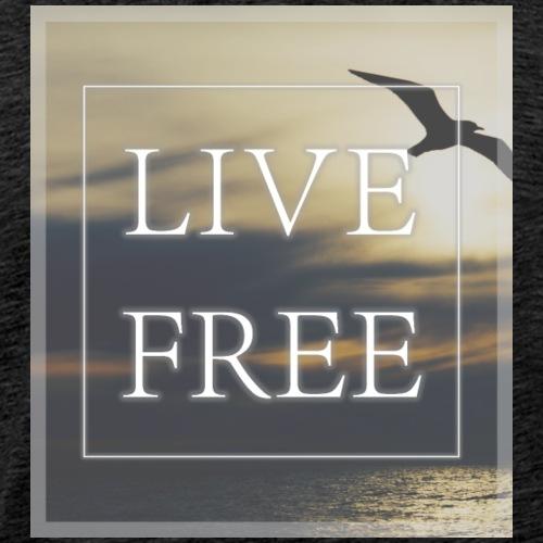 Live Free - Flying - Männer Premium T-Shirt
