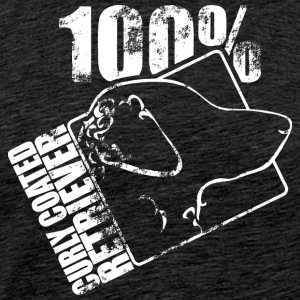 Curly coated retriever 100 - Mannen Premium T-shirt