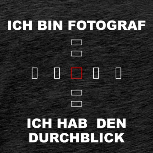 Durchblichk_wei-- - Männer Premium T-Shirt