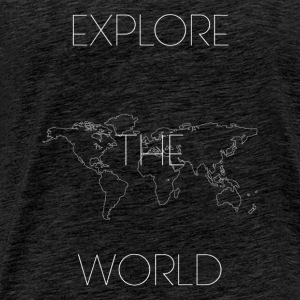 EXPLORE THE WORLD - Camiseta premium hombre